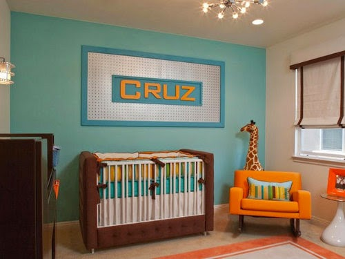 modern baby nursery decor from hgtv