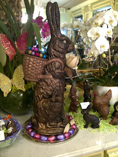 Chocolate Easter bunny Madame Chocolat