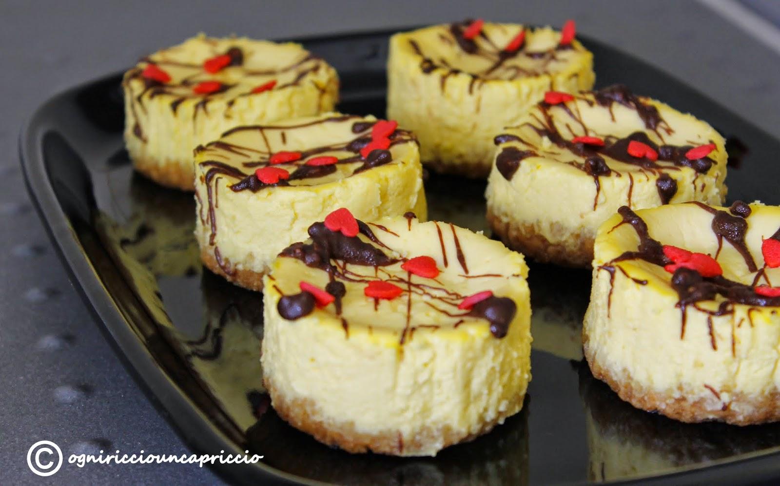 mini cheesecake cotte, a casa come da california bakery!