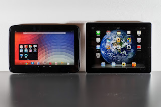 Comparativa Ipad 4 vs Nexus 10