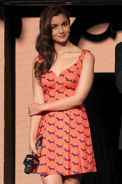 Alia Bhatt Looks Irresistibly Sexy At Colors Infinity Channel Launch Event At JW Marriott