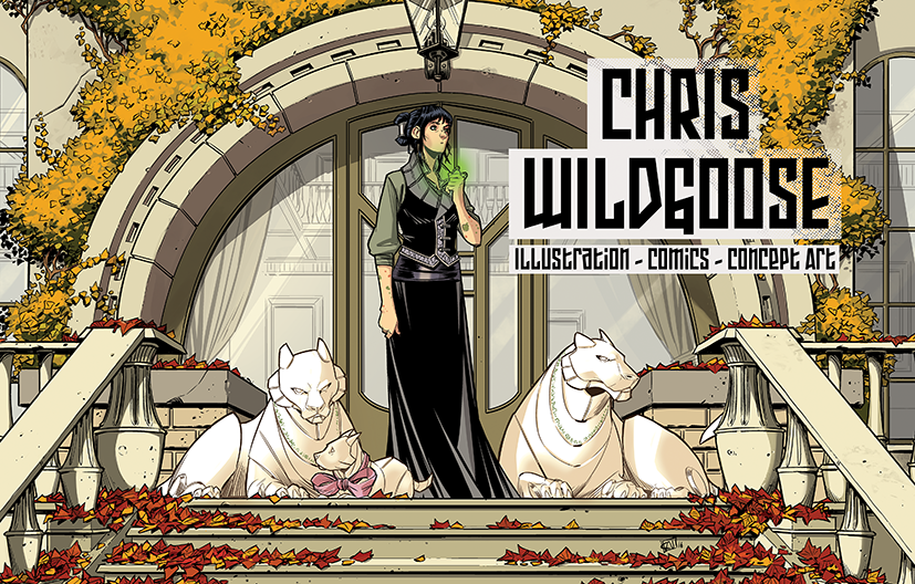 Chris Wildgoose Sketch Book