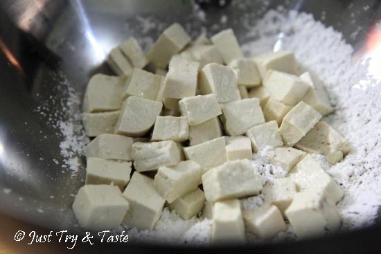 Resep Tahu Cripsy Siram Cabai, Bawang, Garam  JTT