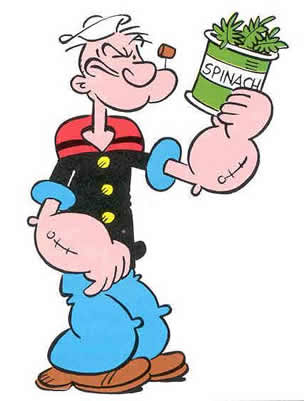 Cartoon popeye