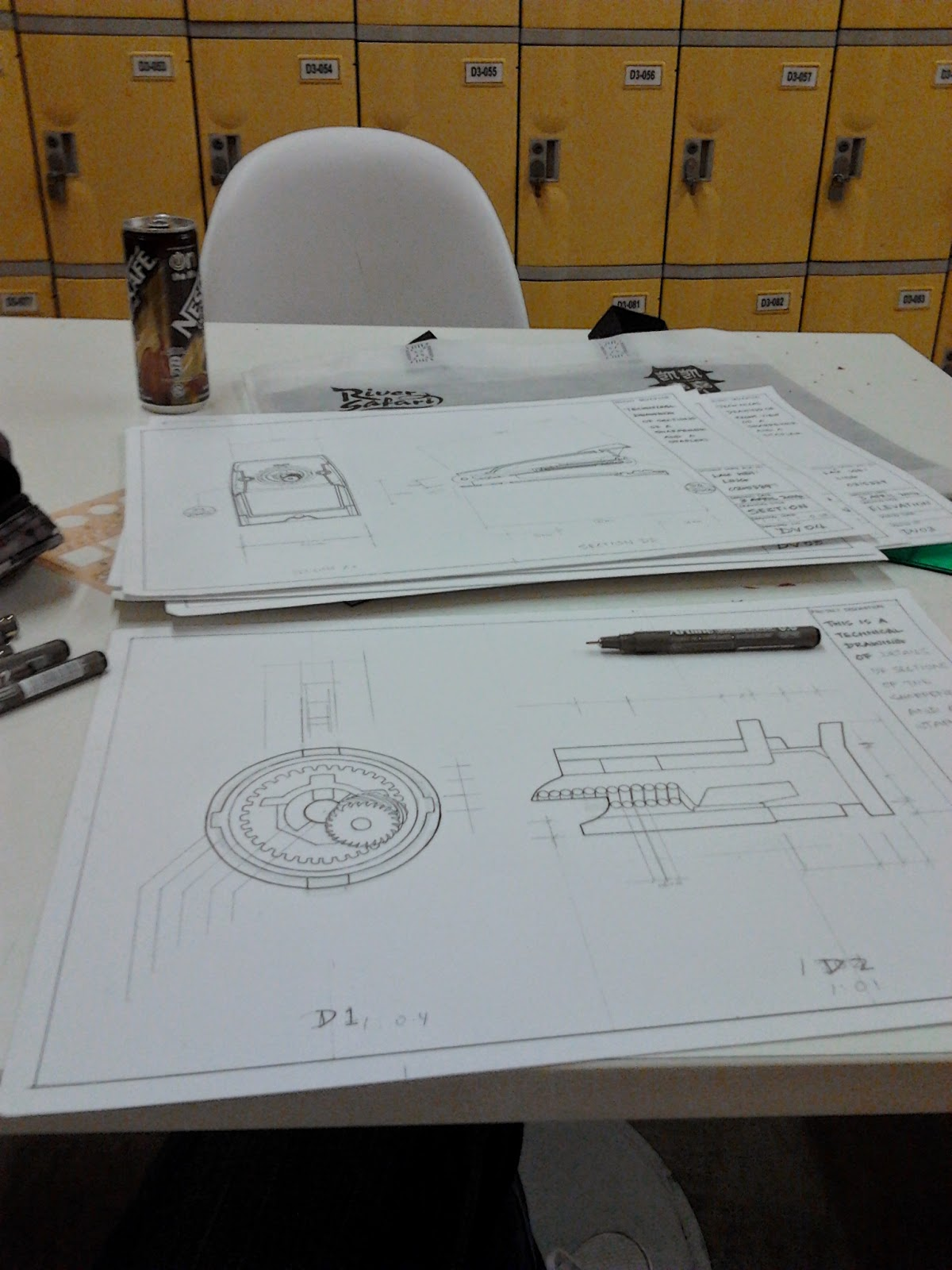 DV project 2 Technical Drawing   FNBE Portfolio