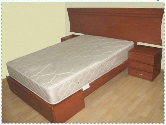 Modelos cama madera imagui - Cama dosel madera ...