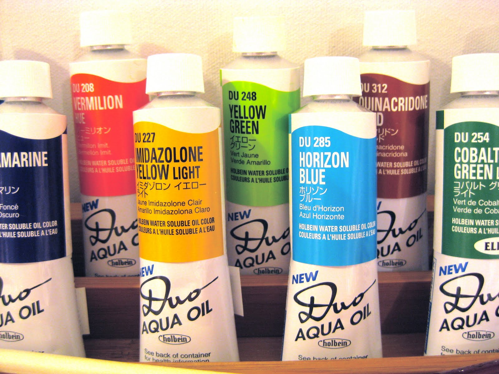 Albright art supply new duo aqua oil colors to see the full color range of the duo aqua oil paints visit httpholbeinhkchartsml and click on the duo aqua link at the bottom left corner nvjuhfo Choice Image