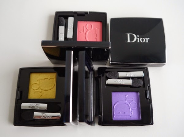Diorshow Mono eyeshadows in pop colours for summer 2014