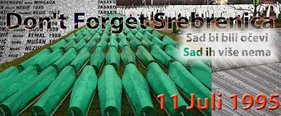 Zaglavlje za stranicu Don't Forget Srebrenica