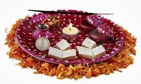 Sahiba ltd for Aarti thali decoration with grains