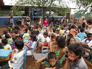. of summer school with their students at Nueva Esperanza primary school.