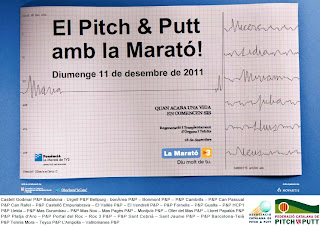 El Pitch and Putt i la Marato TV3 2011