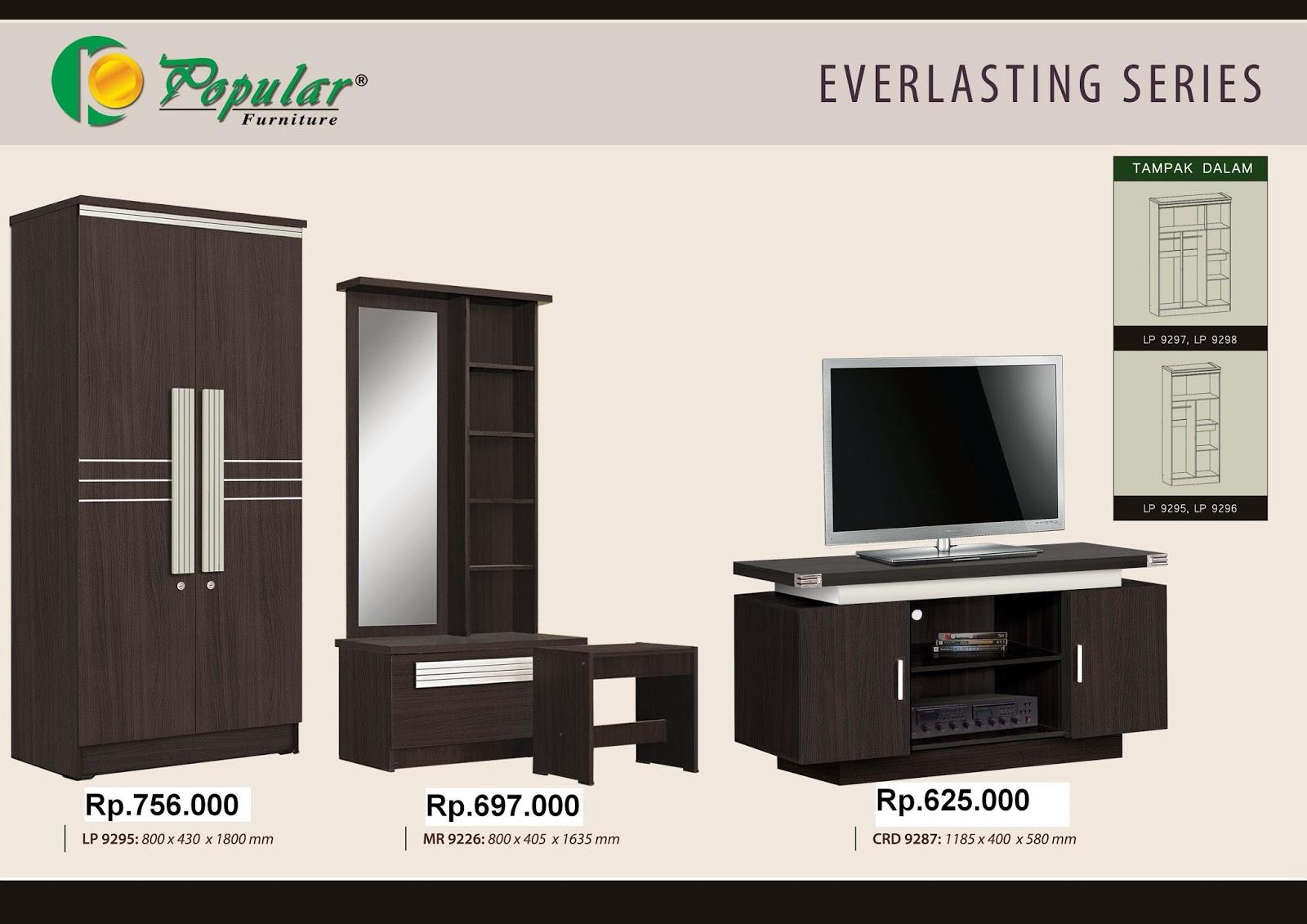 Furniture murah online cianjur lemari pakaian for Harga pasang kitchen set