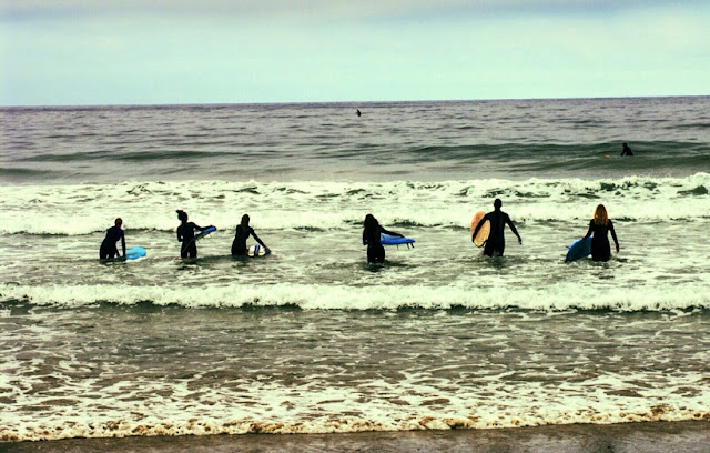 Surf em Topanga Beach em Los Angeles