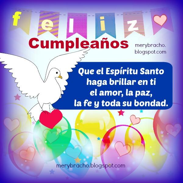 Feliz Cumpleaños. Tarjetas con Frases Cristianas | Entre Poemas y ...