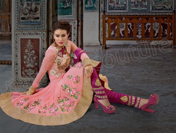 Anarkali Frocks Collection 2013