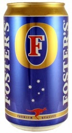 Foster's Fosters Australian Aussie oil can beer low gluten lager free celiac intolerant test result