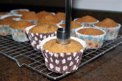 Descorazonando cupcakes
