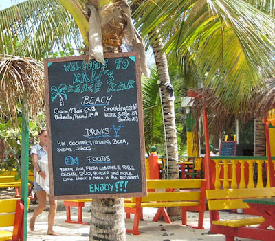 Kali's Beach Bar St. Martin