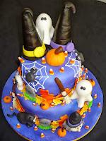 pastel-tarta-halloween-bruja-fantasmas