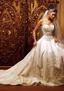 Beautiful Arabic Wedding Dress With Amazing DesignElegant Silver Full Of DiamondCharming DressSimple