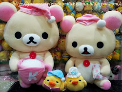 INSTOCK FOR SALE! CLICK PHOTO TO SEE ALL KORILAKKUMA ITEMS AVAILABLE ^^