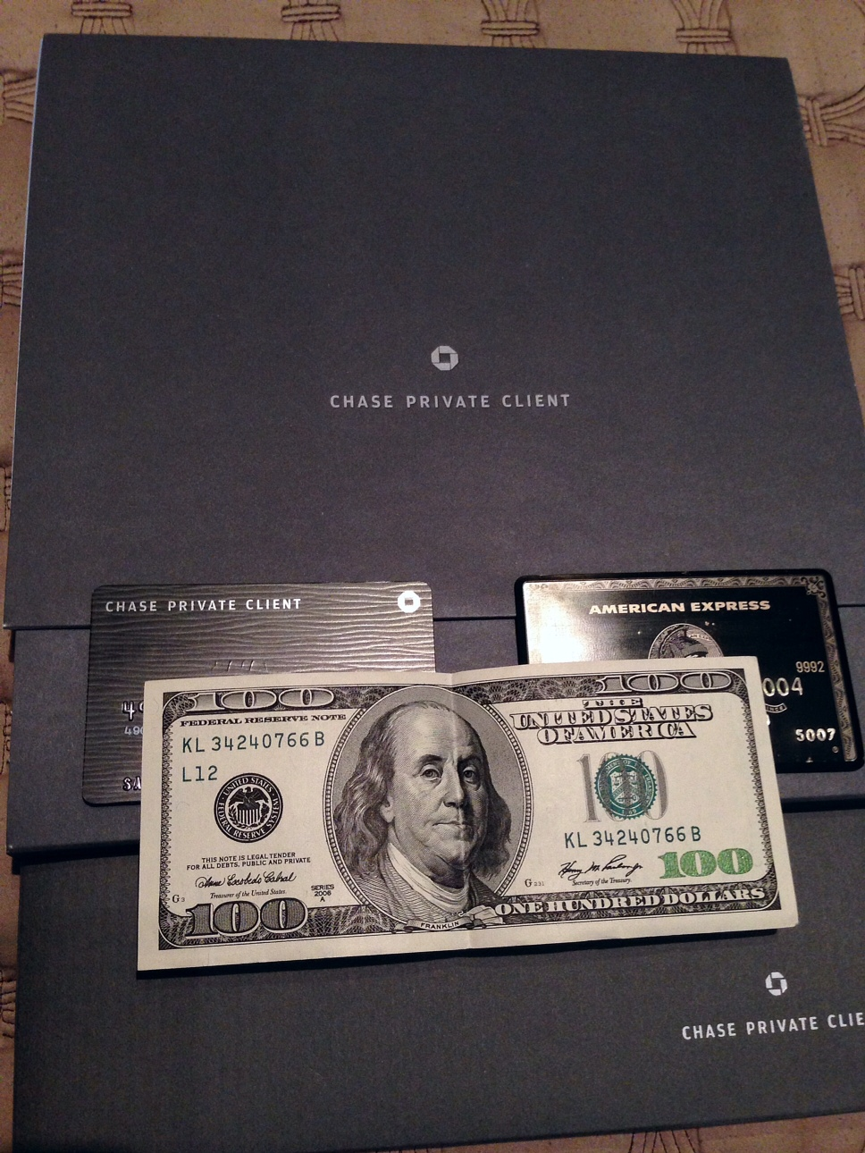 American Express Centurion Living (Amex Black Card): 2013