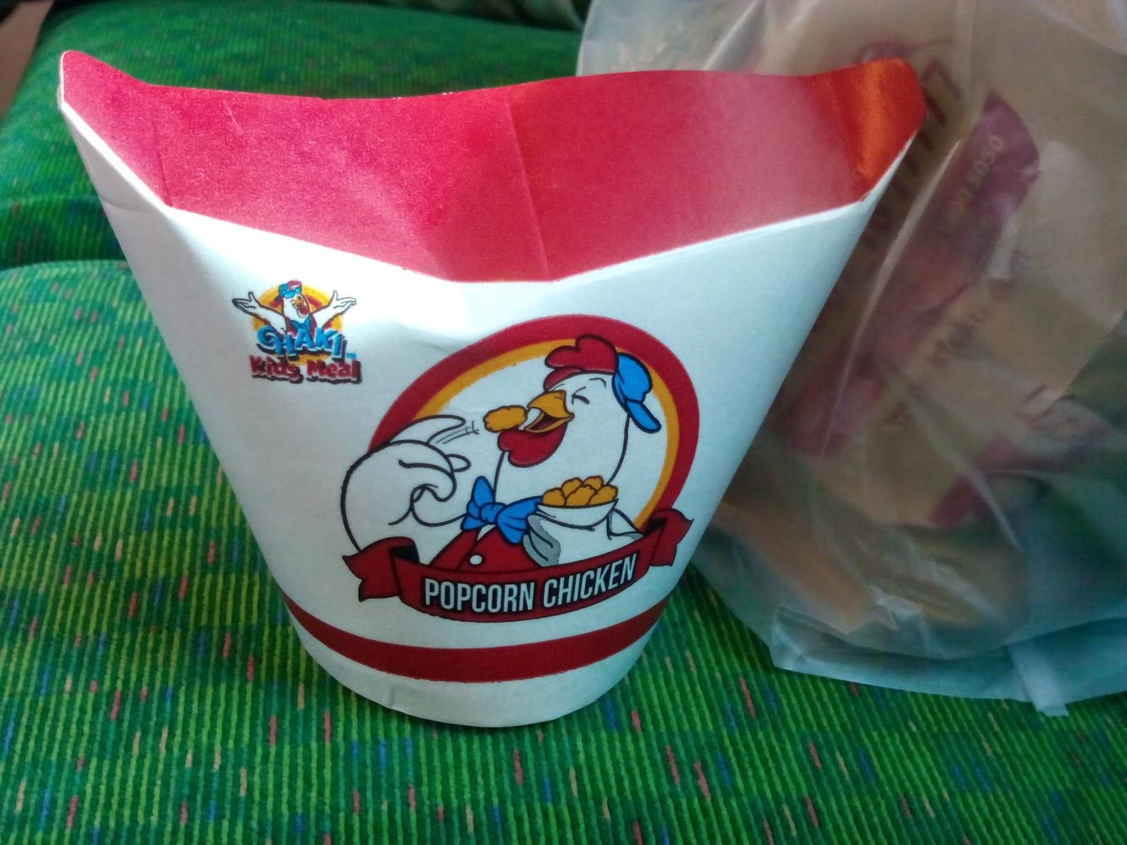 popcorn chicken kfc stasiun manggarai