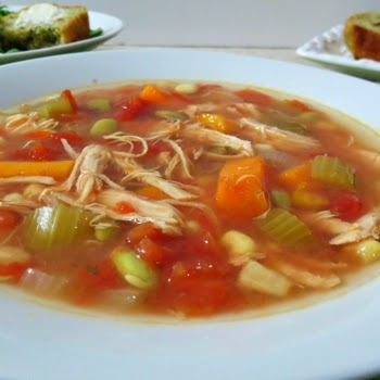 Cooking Pinterest: Crock Pot Chicken Vegetable Soup Recipe