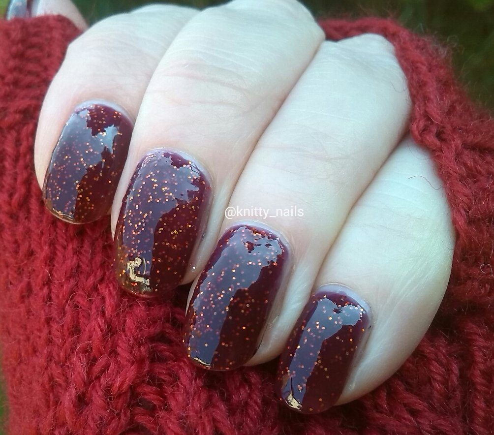 Danglefoot Nail Polish  We are in Dream Country Now