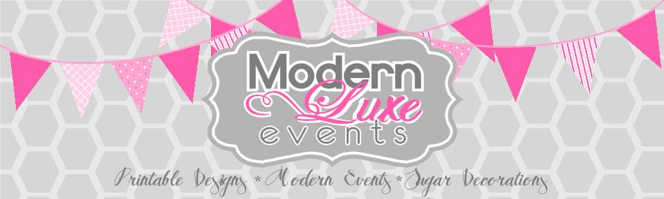 Modern Luxe Events