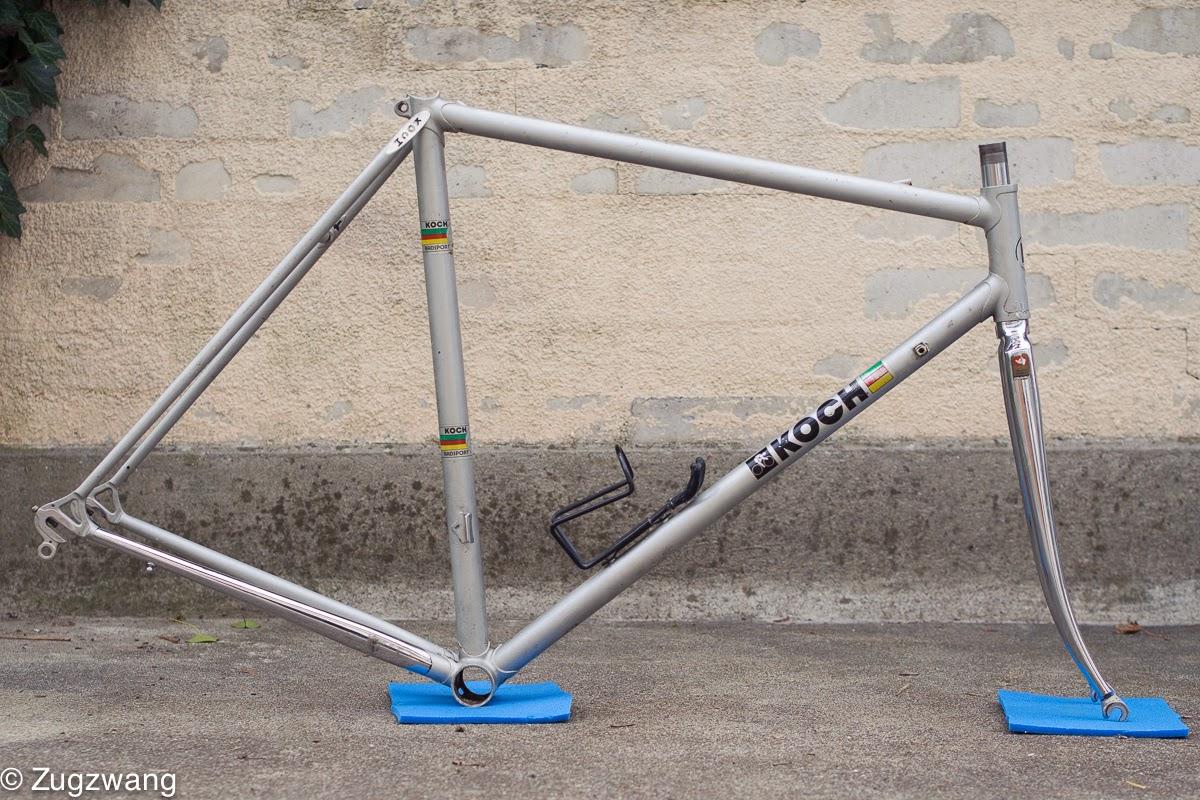 Zugzwang: 80s Pinarello-Rahmen für Koch Radsport, Kriens
