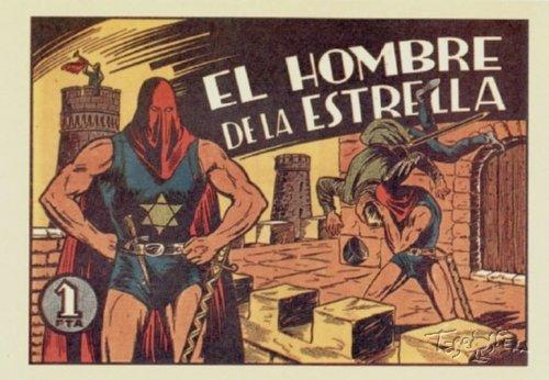 EL HOMBRE DE LA ESTRELLA, EDITORIAL BRUGUERA 1947 (Completo). 26 tebeos.