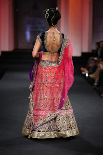 Vikram Phadnis Bridal Outfit 2012