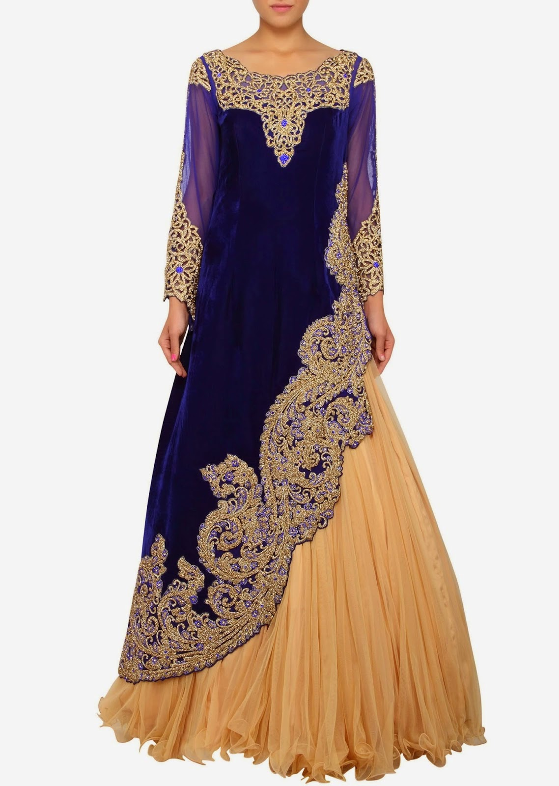 buy online shopping Indowestern Lehenga and Floor Length Party Dresses exclusive collection wholesale manufacturer store  in surat, gujrat in indai