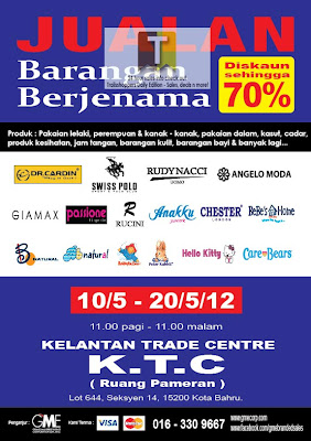 Branded Stuffs Sale Kelantan