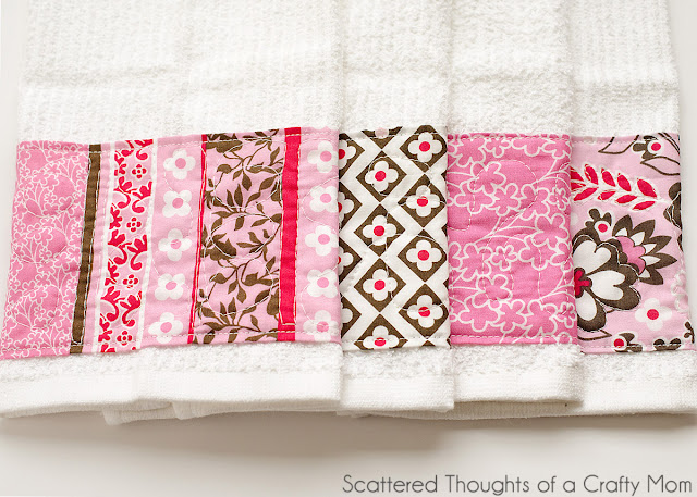 embellished handtowels