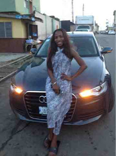 Ace singer, Donna Diva gets N11m Audi A6 as birthday present