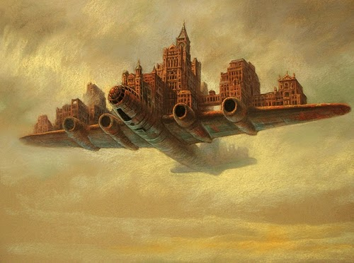 06-Aeropolis-Marcin-Kołpanowicz-Painting-Architecture-in-Surreal-Worlds-www-designstack-co