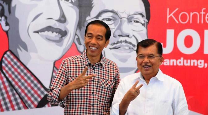 Hasil Resmi Pilpres 2014: Jokowi-JK Menang 53,15%