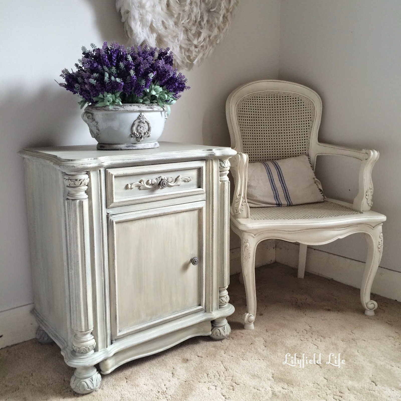 French style dry brushed and washed cupboard ASCP Lilyfield life