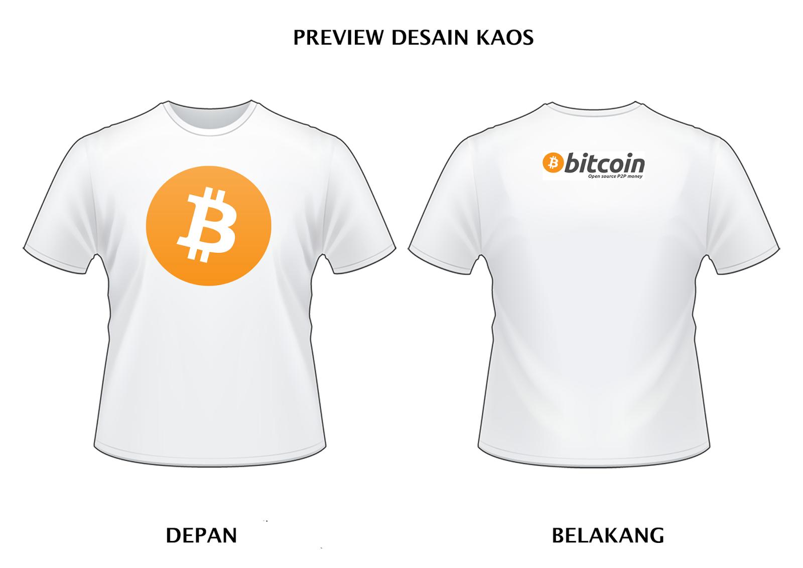 jual kaos desain original bitcoin