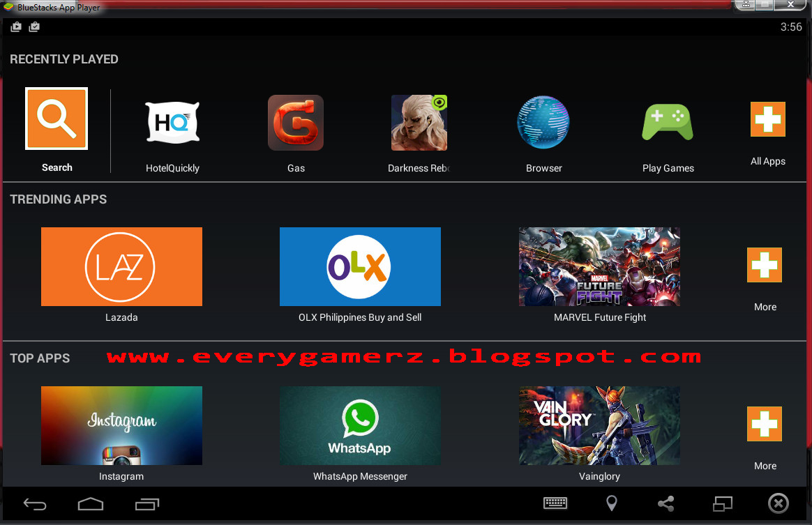 EveryGamerz an Online Blog for all Gamerz: BlueStacks 2 ...