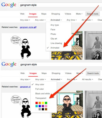 Google image search_animation_transparent Background