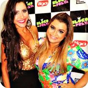 Kelly Baron com a cantora Preta Gil (kelly baron preta gil big brother vip brasil)