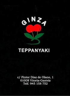 Restaurante Ginza Teppanyaki - Logo