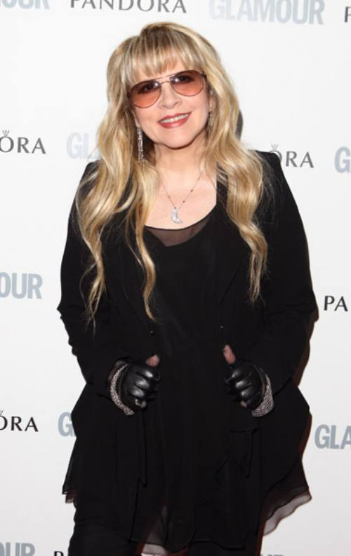 Fleetwood Mac News: PHOTO: Stevie Nicks on the Red Carpet at the ...