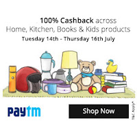 PayTm 100% cashback Sale for Home, Sports, Books, Toys & more : BuyToEarn