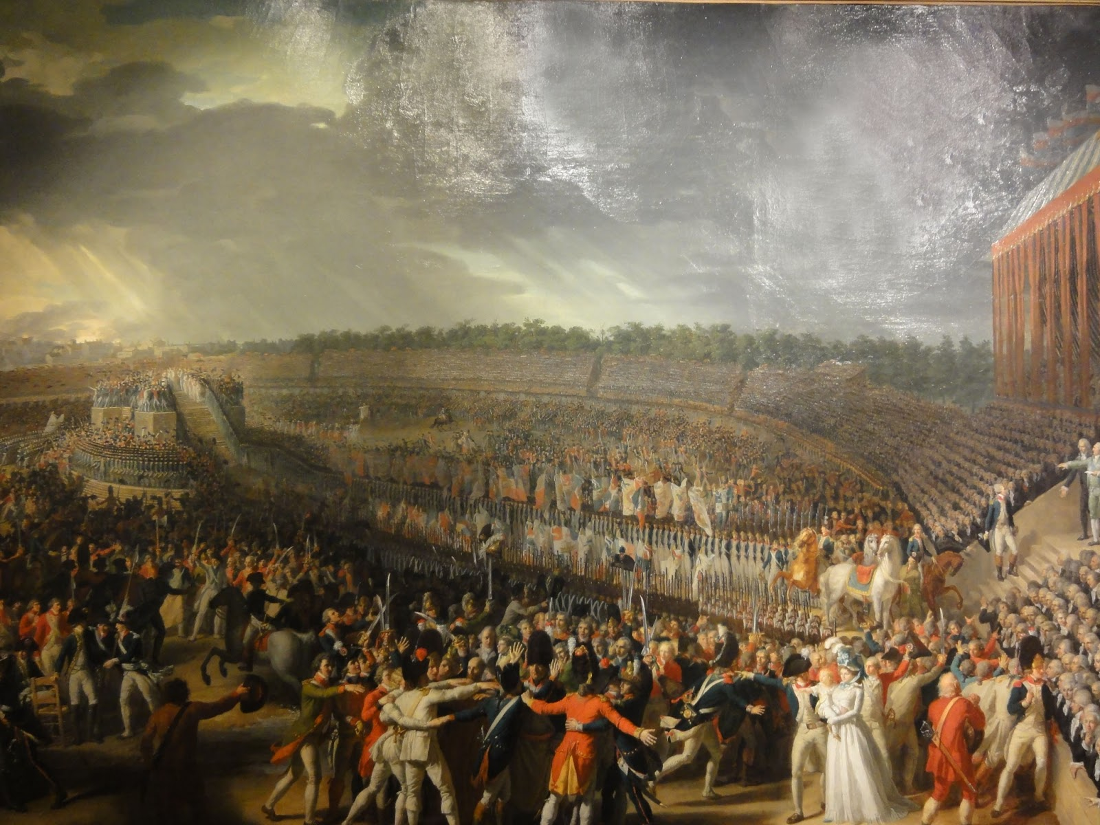 the revolutionary storming The french revolution: ideas and ideologies the philosophe may have laid the egg, but was the bird hatched of a different breed maurice cranston discusses the intellectual origins and development of the french revolution.