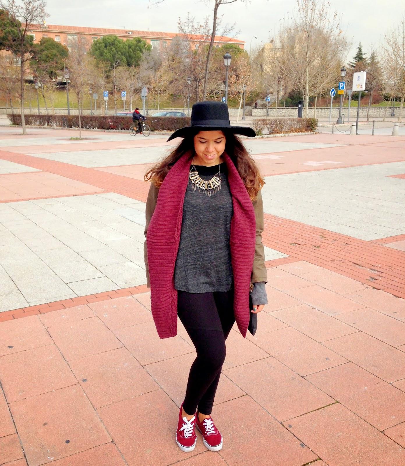 Letmecrossover_blog_fashion_ootd_parka_primark_forever21_wine_color_burgundy